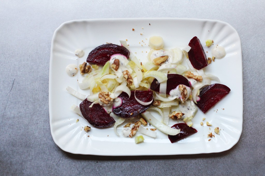 Beet Salad with Caraway Dressing