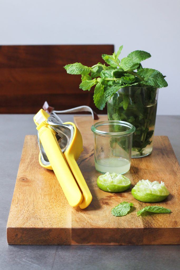 Lime Juice and Mint