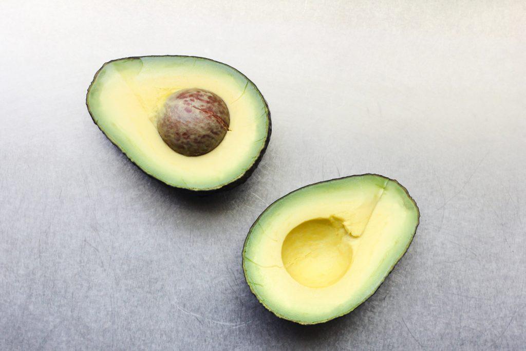 Cut Avocado