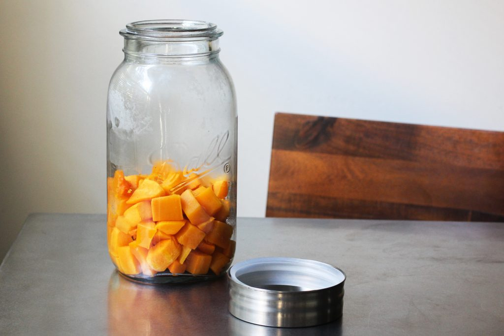 Roasted Squash in Jar