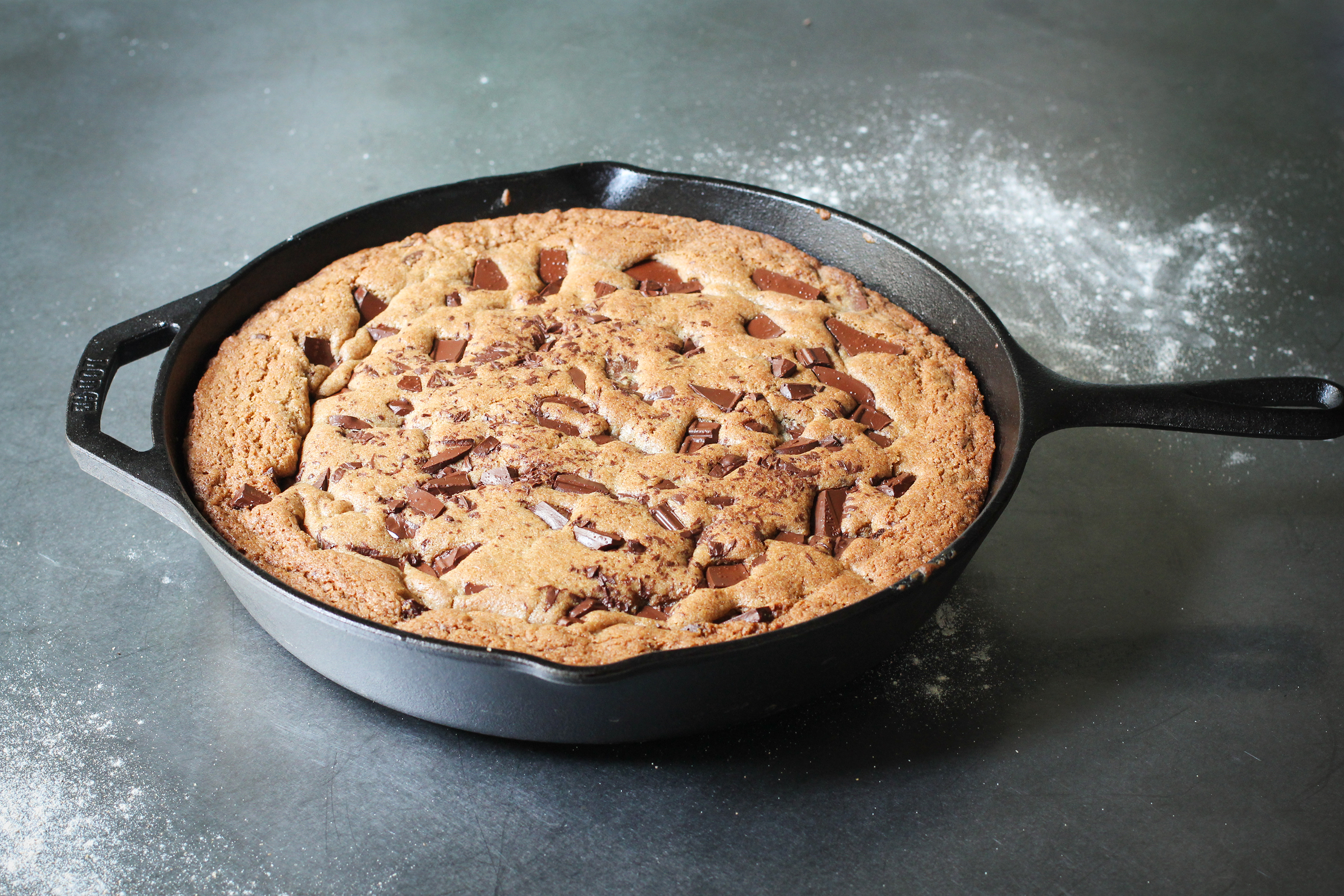 Whole Wheat Skillet Cookie