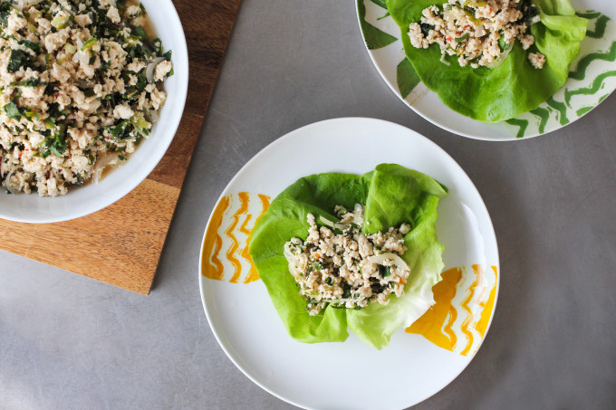 Chicken Larb