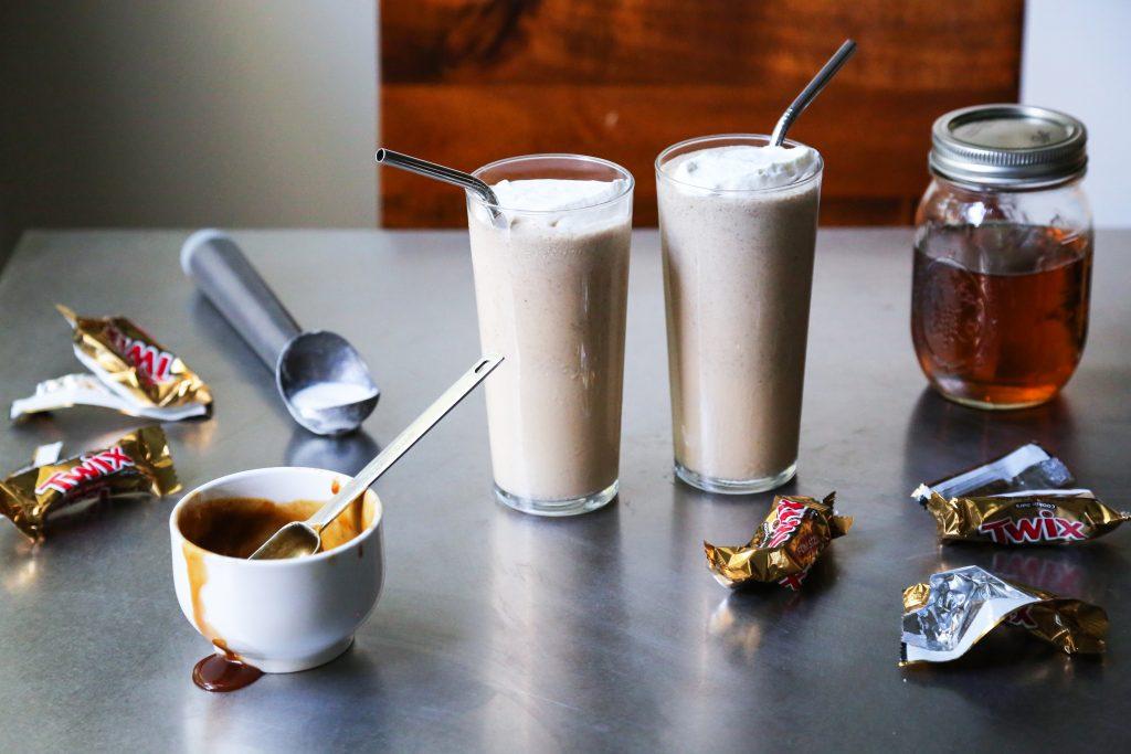 Candy Bourbon Milkshake