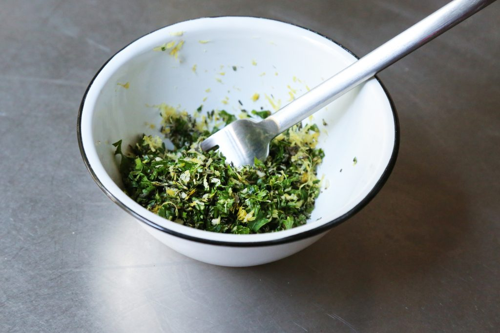 Mixed Herb Gremolata