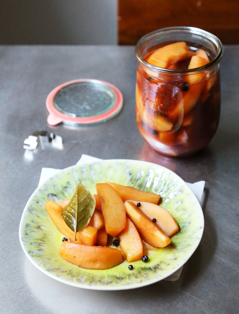 Pickled Quince