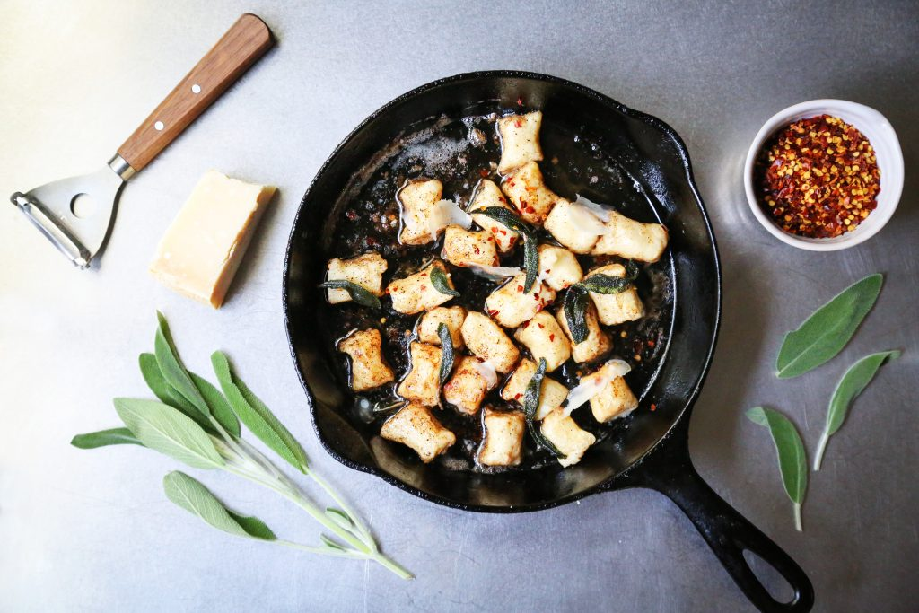Rustic Gnocchi with Ingredients