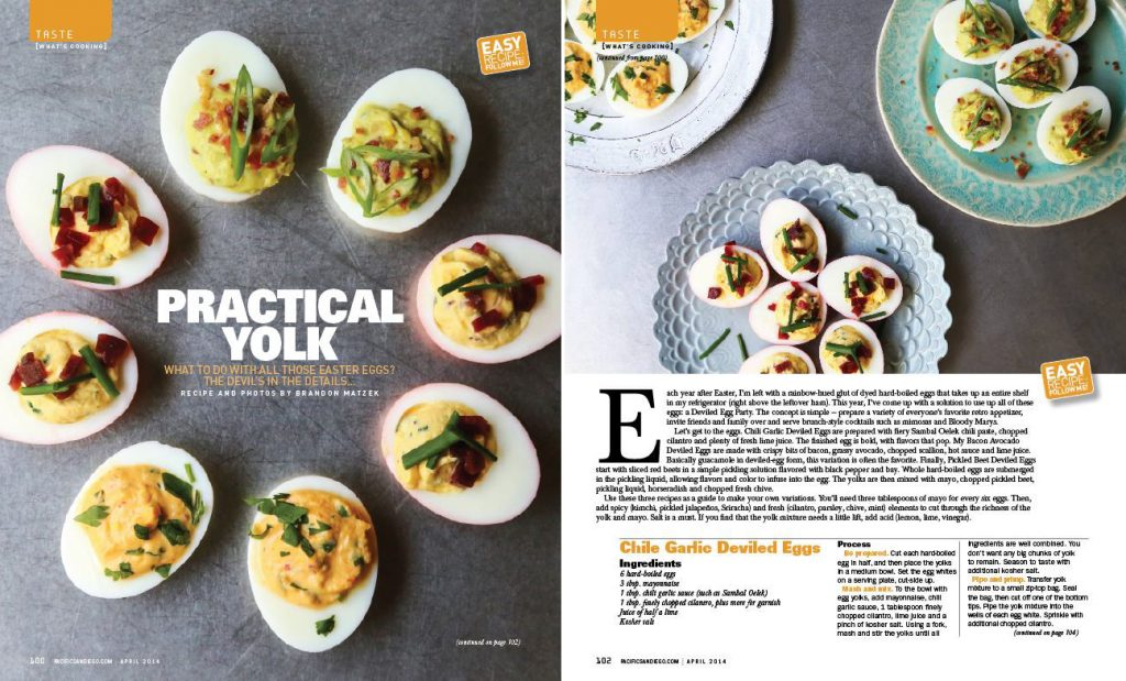 Pacific Deviled Eggs