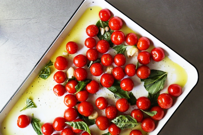 Tomato Confit Pre-Bake