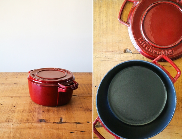 KitchenAid Cast Iron Pot