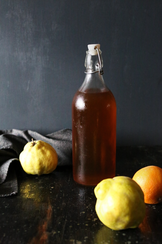Apple and Quince Liqueur
