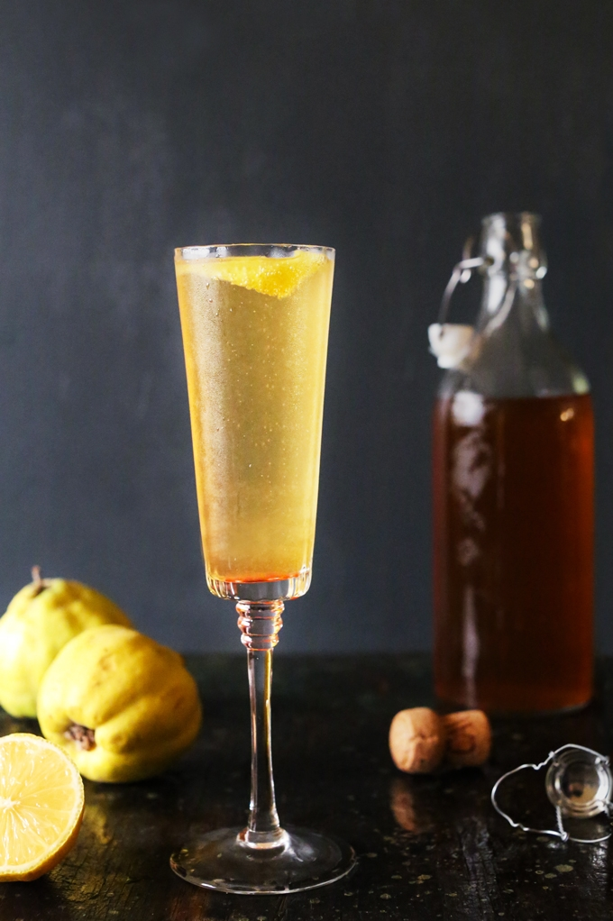 Apple and Quince Sparkler