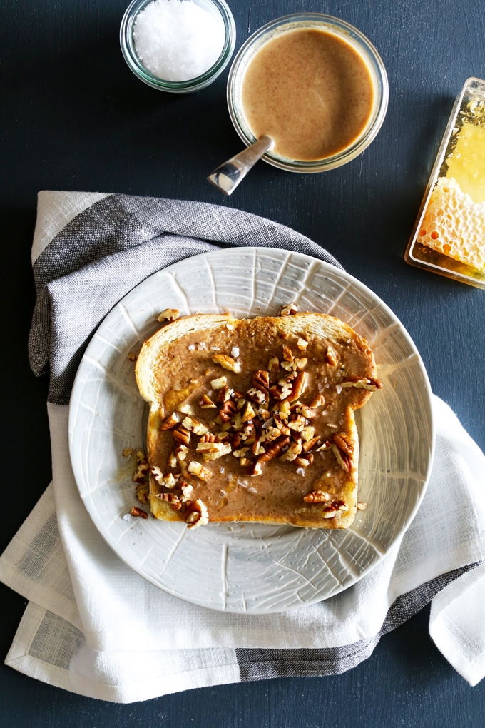 Roasted Pecan Butter Toast