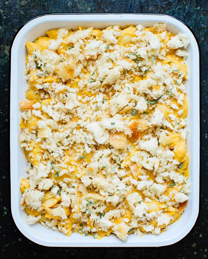 Butternut Squash Mac and Cheese Unbaked