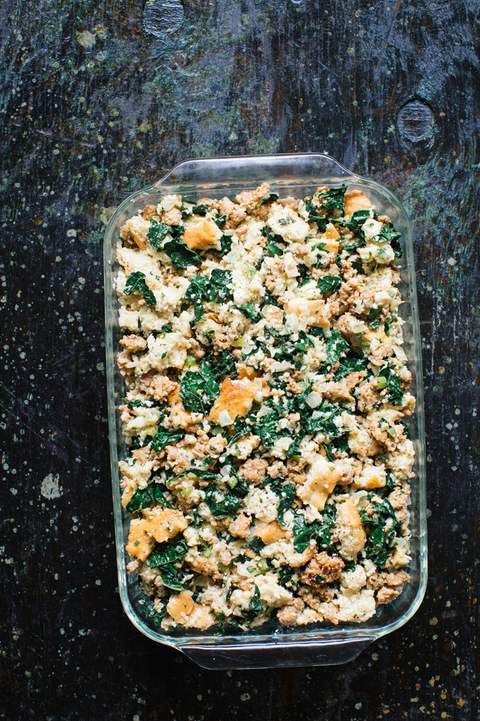 Stuffing Unbaked
