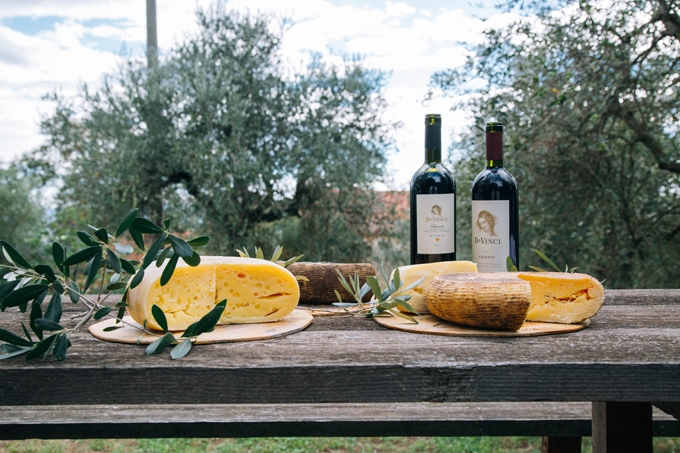 DaVinci Wine and Cheese Tasting