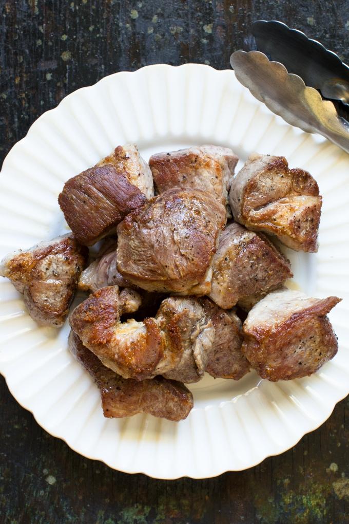 Browned Pork