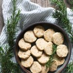 Rosemary Toasted Hazelnut Shortbread Cookies Recipe
