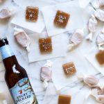 Sea Salt Hard Cider Caramels