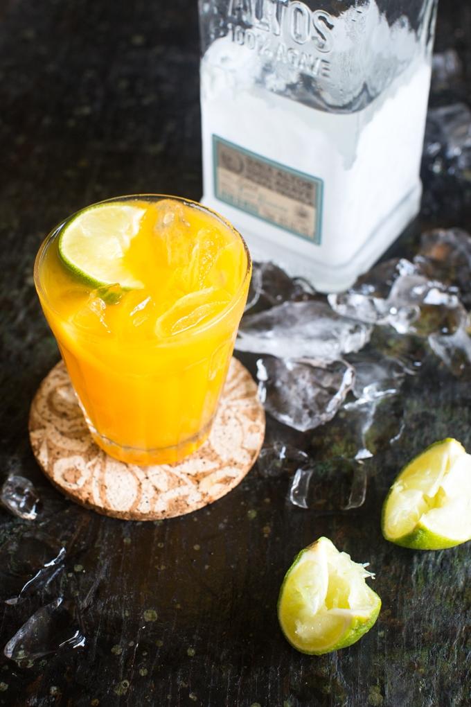 Easy Passion Fruit Margarita