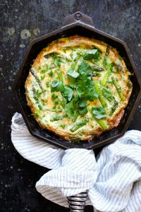 Asparagus and Herb Frittata