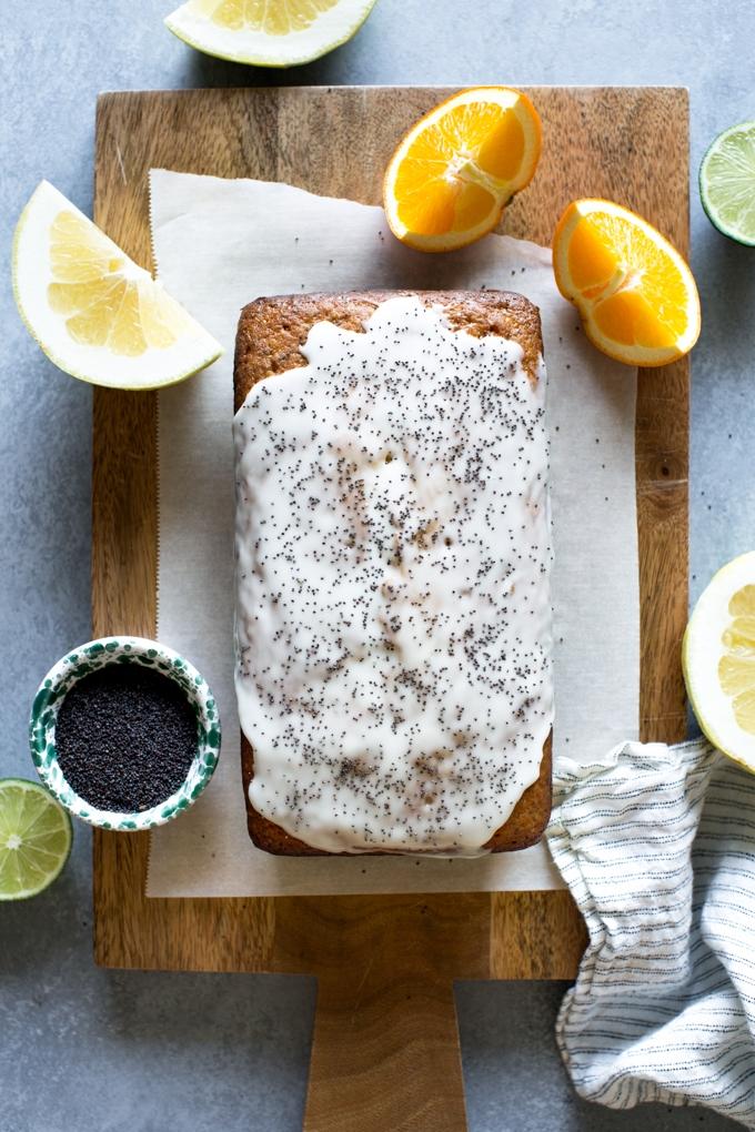 Citrus Poppy Seed Cake Recipe
