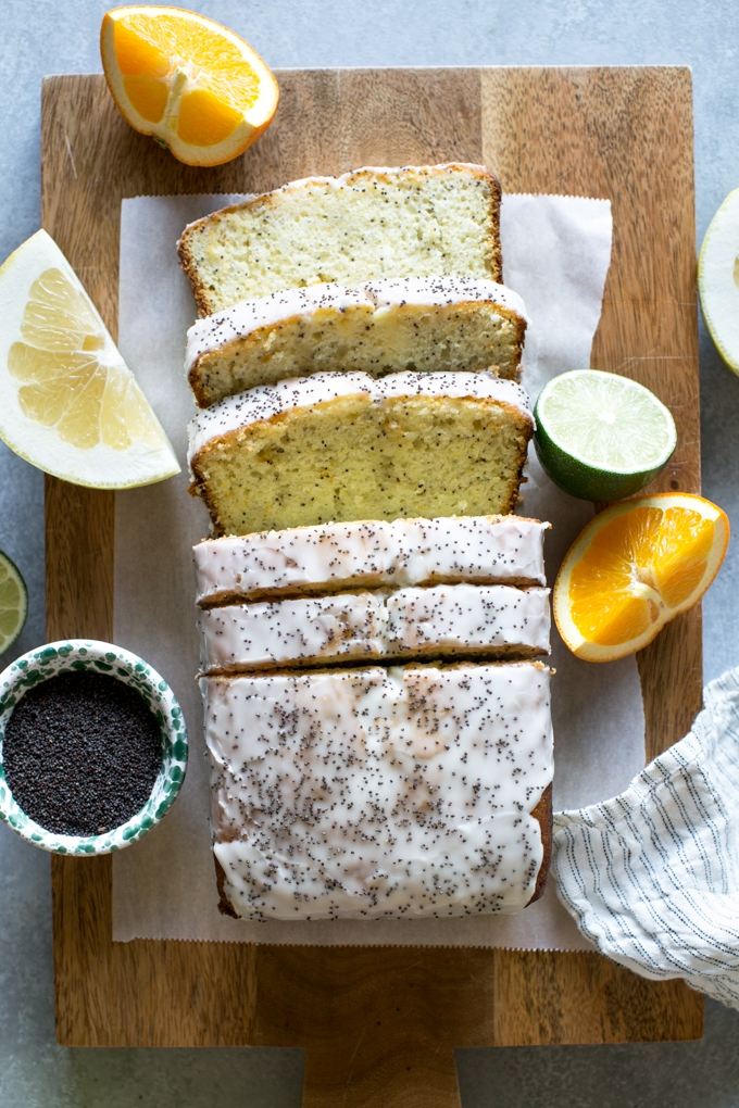 Citrus Poppy Seed Cake Recipe