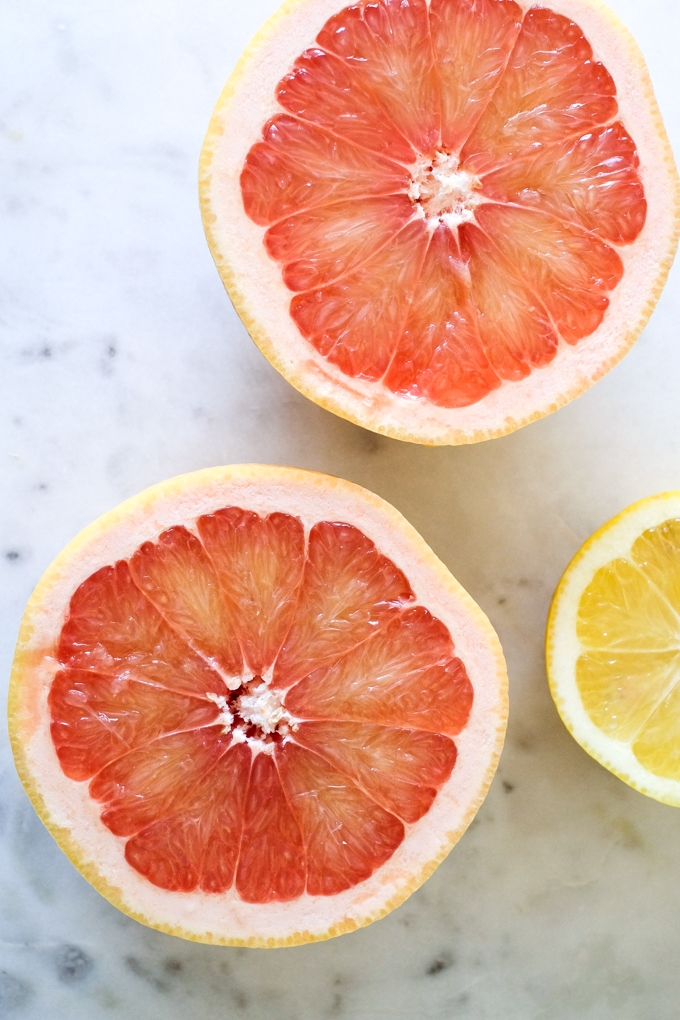 Grapefruit and Lemon
