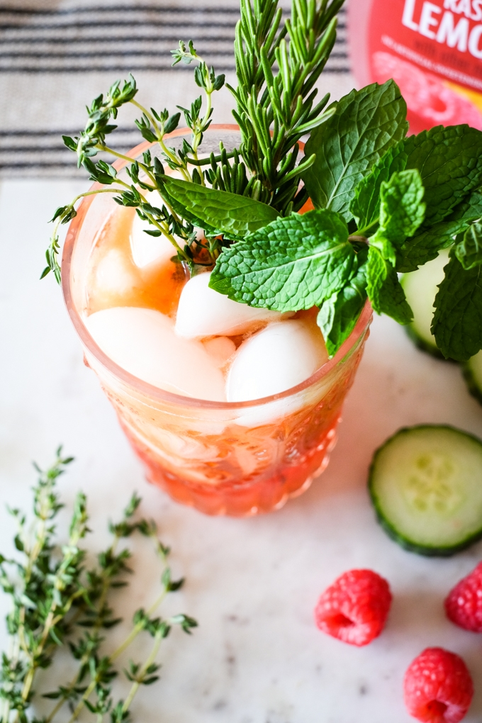 Raspberry Pimm's Cup
