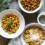 Roasted Chickpeas 3 Ways