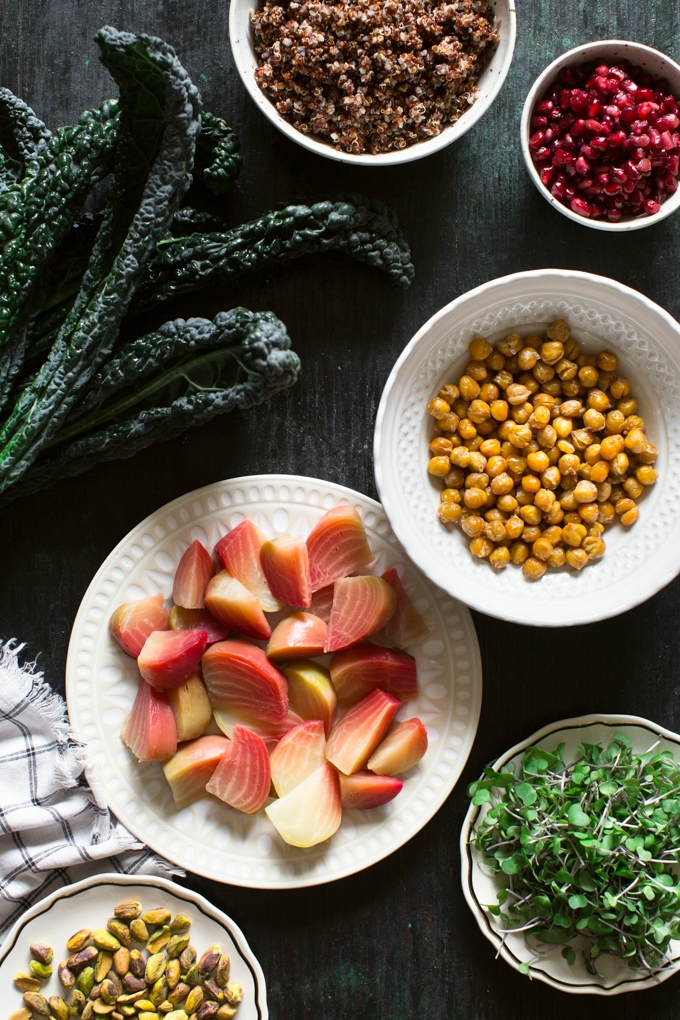 Superfood Salad Ingredients