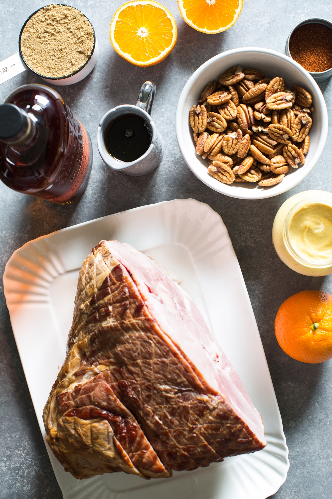 Glazed Ham Ingredients