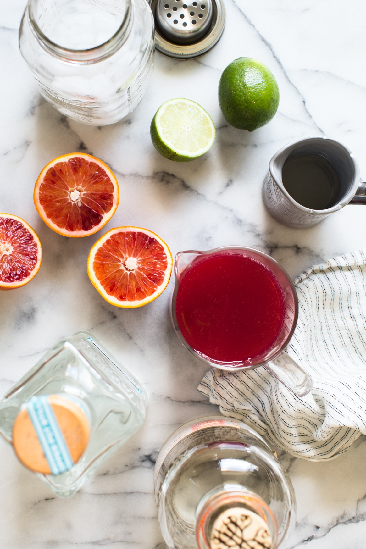 Smoky Blood Orange Margarita Ingredients