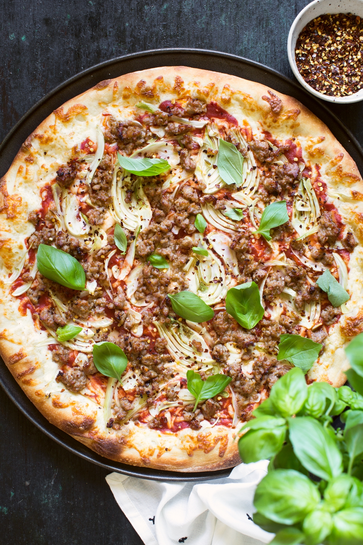 Fennel and Sausage Pizza Recipe