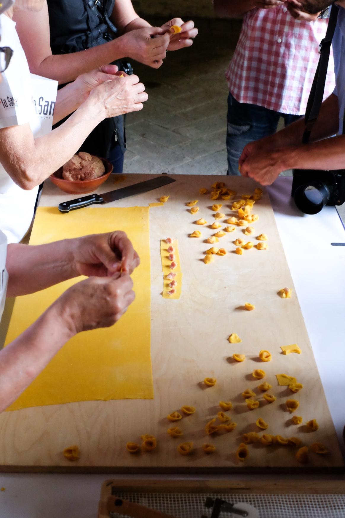 Tortellini Making Class