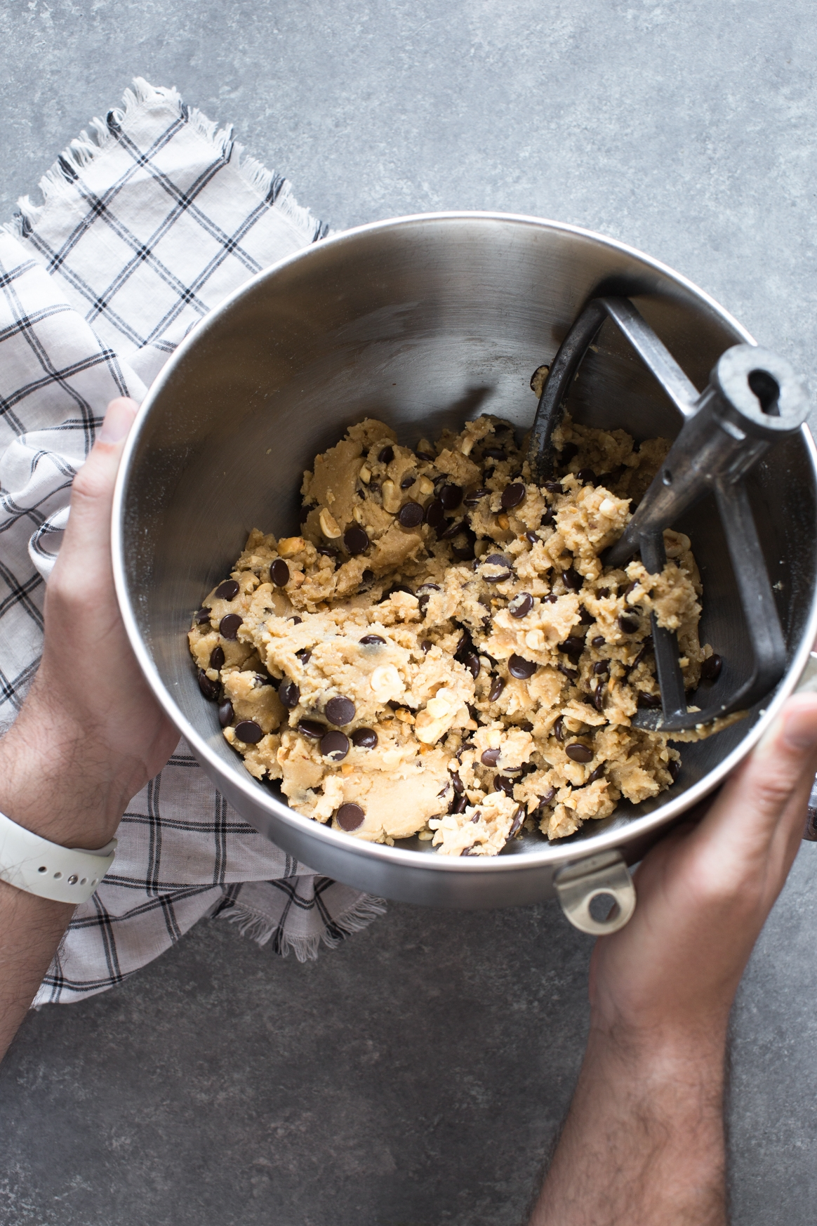 Toasted Hazelnut Chocolate Chip Cookie Dough