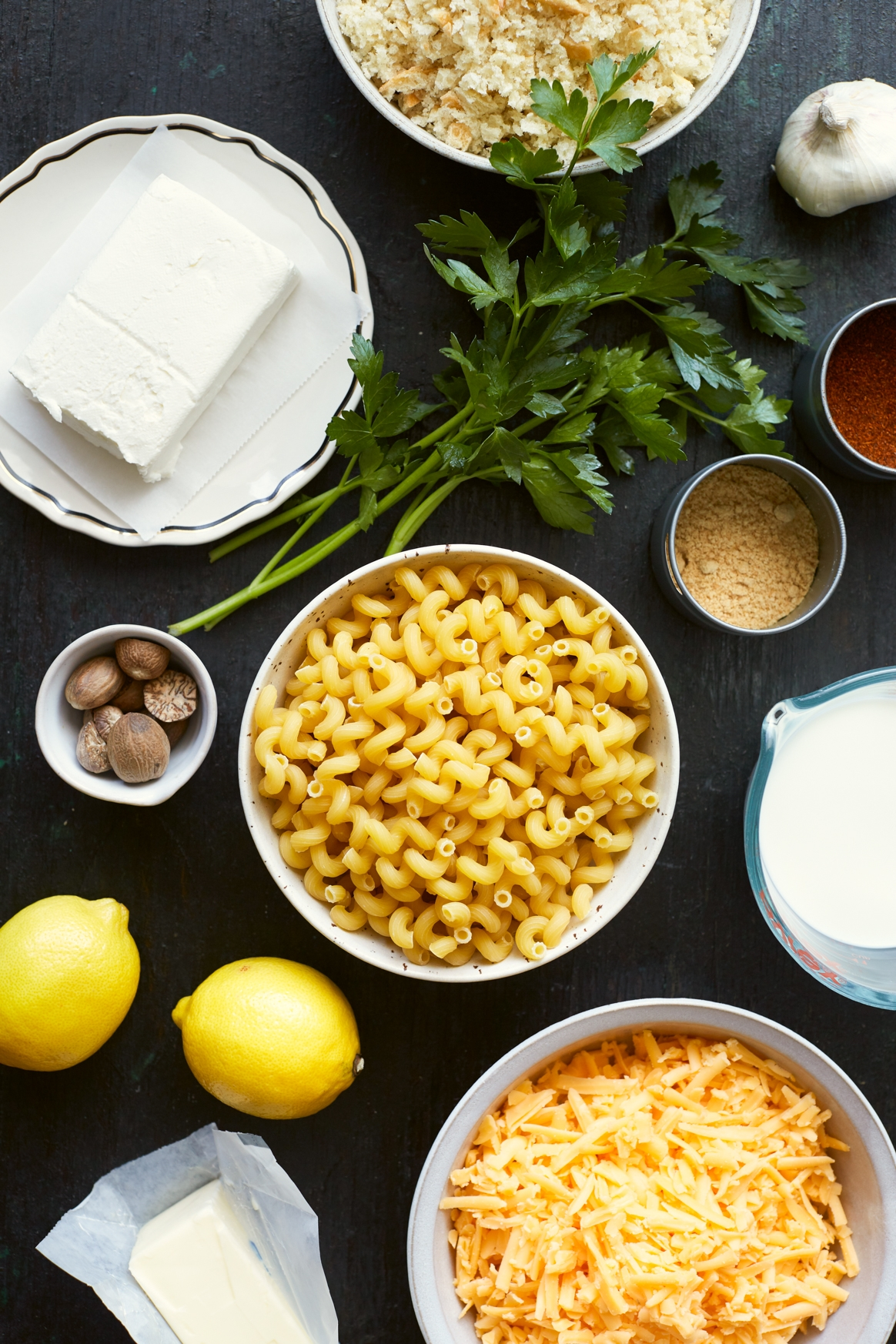 Instant Pot Mac and Cheese Ingredients