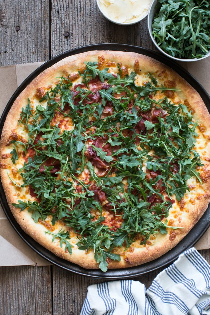 Arugula and Prosciutto Pizza Recipe