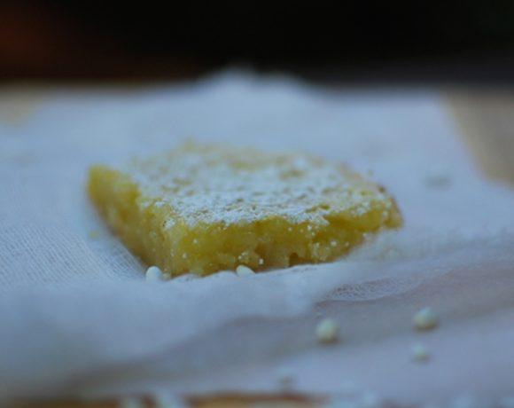 Julia's lemon bars
