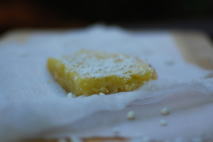 Julia's lemon bars