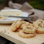 Parmesan Fennel Shortbread