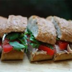 Rooasted Chicken Sandwich with Fennel Mustard