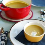 Spicy Pumpkin Soup with Toasted Cumin Crema