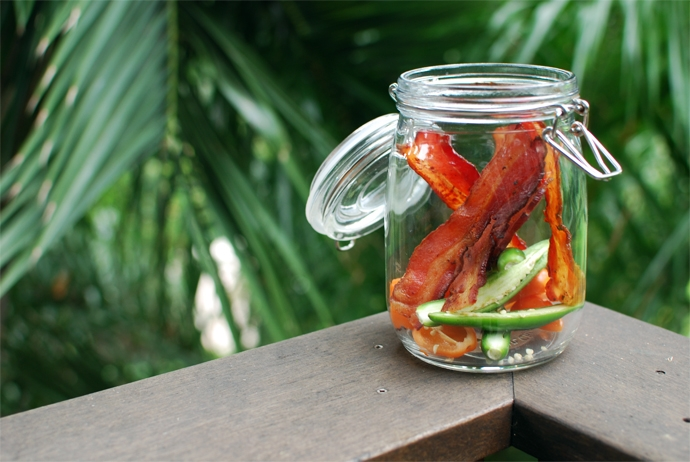 Bacon and Peppers