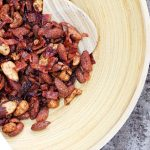 Spiced Mixed Nuts with Sugared Bacon