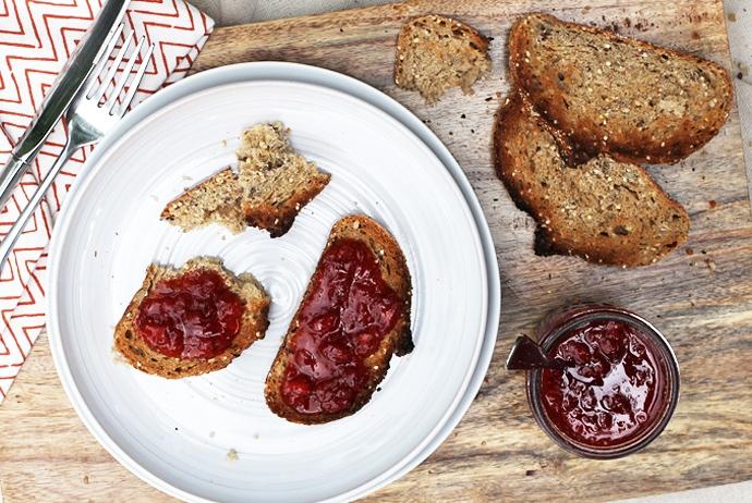 Pickled Strawberry Jam
