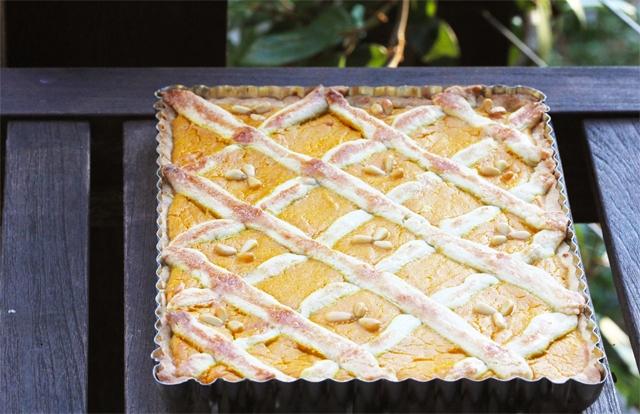 Pumpkin-and-Ricotta Crostata Recipe — Dishmaps