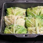 Stuffed Savoy Cabbage with Brown Butter and Rosemary