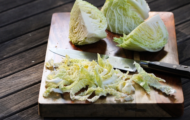Shredded Savoy Cabbage