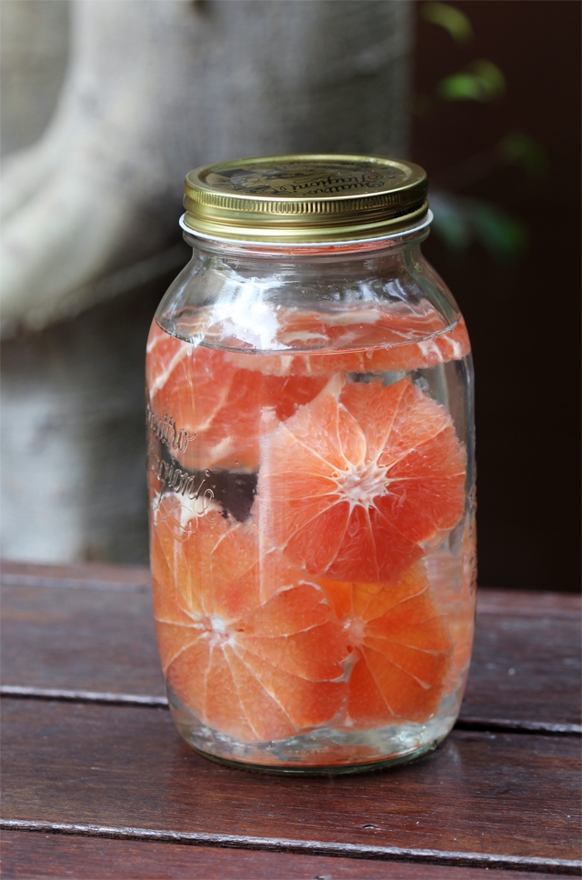 Grapefruit Infused Rum