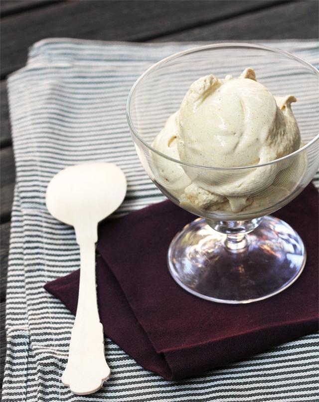 Roasted Pumpkin Five-Spice Ice Cream